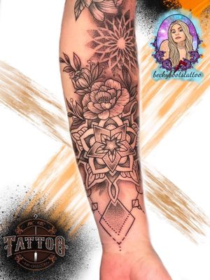 Tattoo by INK + OILS tattoo shop Tamworth and laser tattoo removal