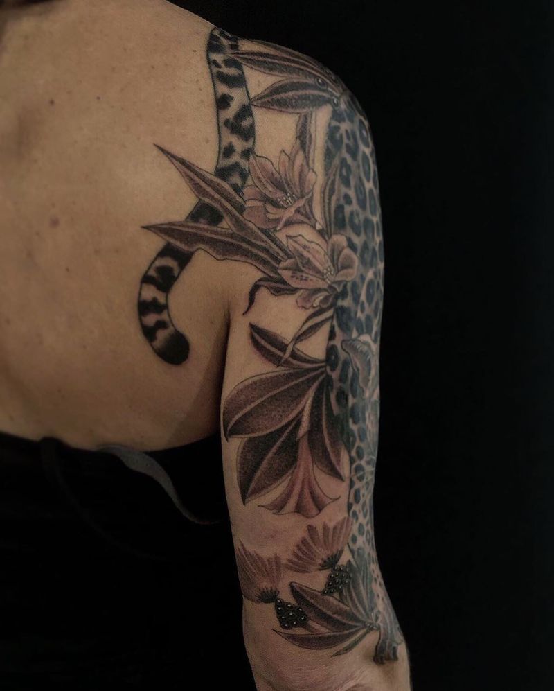 Tattoo from Jess T Fang