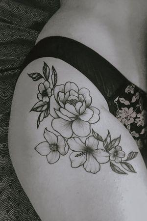 Floral Hip flow ~ healed