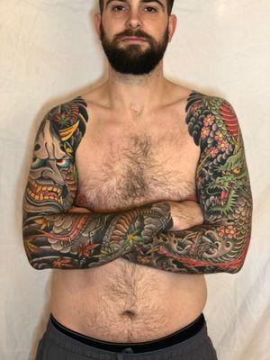 Tattoo from Fran Massino