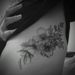 Rib flower flow ~ healed