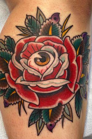 Eye in Rose