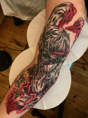 Kaneki tattoo (Tokyo Ghoul)