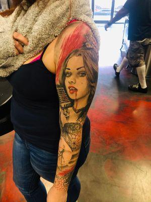 Tattoo from James Mahoney