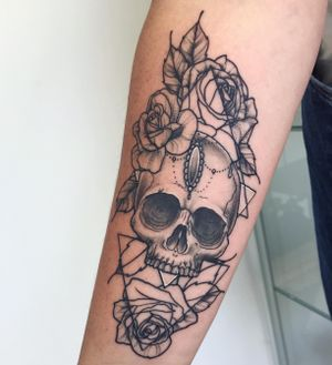 Tattoo by Hard Lines Tattoo Studio