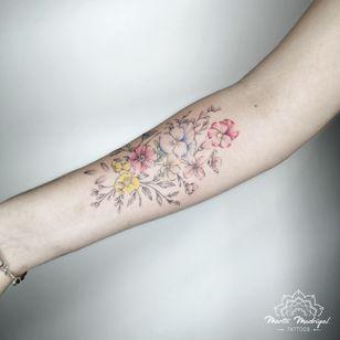 Tattoo by Marta Madrigal