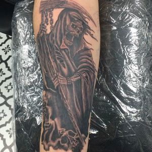 Tattoo I was working on before quarantine. can't wait to get in there and finish it off.