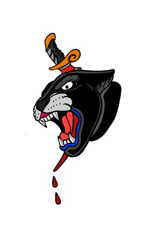 PantherHead & Dagger
