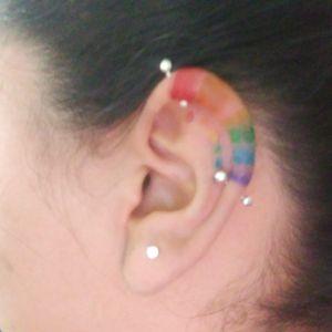 Pisces tattoo #rainbow #rainbowtattoo #arcoiris #arcoiris🌈 #lovetattoo #tattoswithlove #makingmagic #dotworktattoo #tinydots #dotwork #Zenkyink #heforshe #🌈 #Zenkyinktattoo #haciendomagia #tatuajesconamor 🇲🇽Juarez, Chihuahua México 🇲🇽 6561318305 Tattoodo.com/Zenkyink Fb.com/Zenkyink Instagram @Zenkyink
