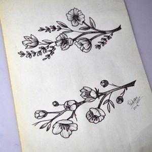 #florestattoo #flowerstattoo #thiagopadovani #cerejeiratattoo #sakuratattoo #cherryblossomtattoo