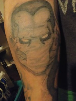 My newest addition to my superhero sleeve. Colossus is now done, finished on April 25th.