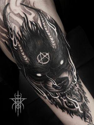 Blackwork Hellhound