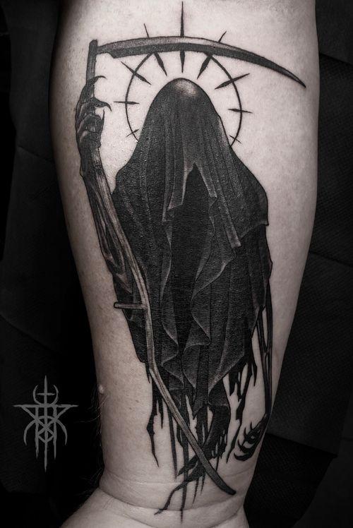 Blackwork Reaper