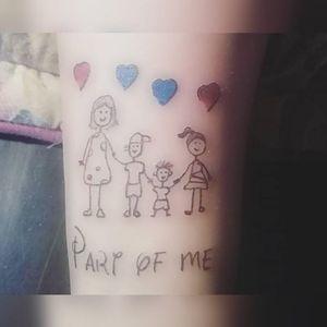 #originaldesign #originalart #linework #family #hearttattoo