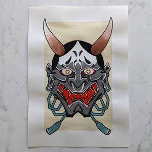 Tattooed by Tom Roder #hannyatattoo #hannya #irezumi #irezumitattoo #wabori #japanesetattoo