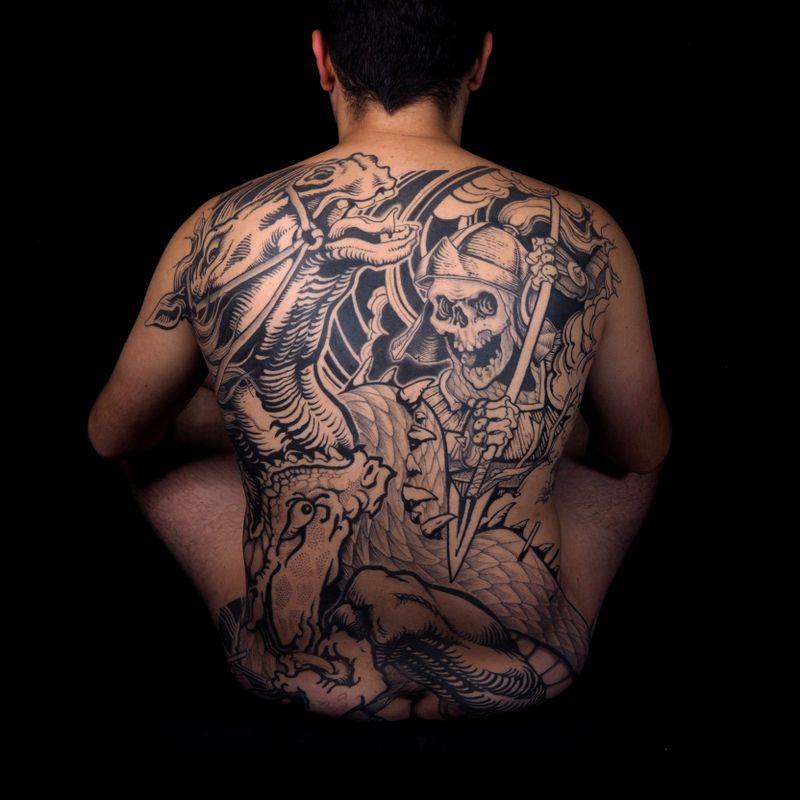 Tattoo from Inaki Works