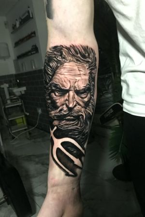 Another Greek sleeve in the making
