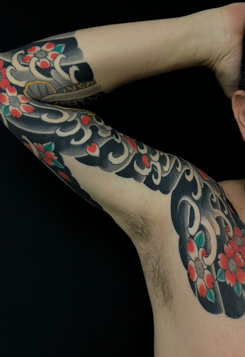 Tattoo from Armando Montero