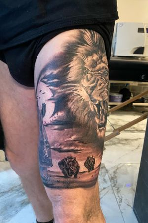 More of a African leg sleeve