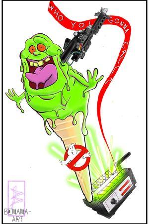 Ghostbusters icecream
