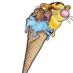 Tigger roo ice cream