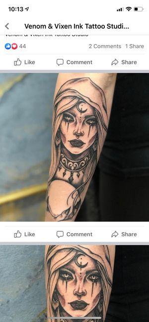 Tattoo by Venom & Vixen Ink