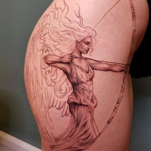 Peppershading Angel #guardianangel #zodiacsign #wip