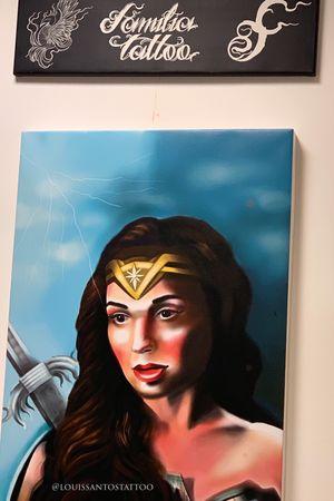 Wonder Woman digital Portrait
