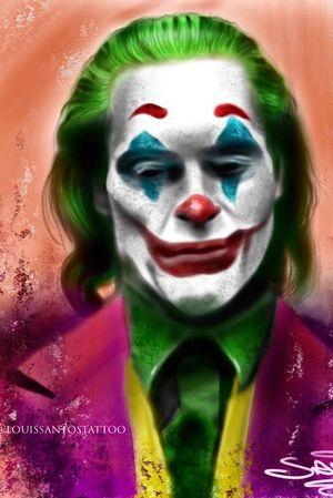 Joker Digital Portrait