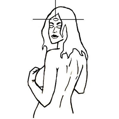 #nude #girl #woman #thirdeye #third #eye #nudegirl #back #naked #smile #cosmic #seductive #boobs #sexy #2020 #ArminasŠulskis