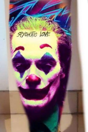 Projet à venir par #inkolor_addict #Joker #JokerTattoos  #dccomics  #dccomicstattoo #batman