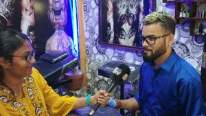 B TV interview.. About Tattoo