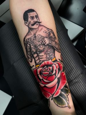 Tattoo by Jackson Street Tattoo Company