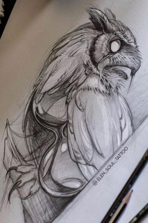 #elensoul #owl #time