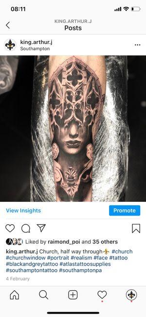 Tattoo by Illuminarti studios