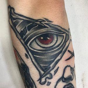 healed all seeing eye