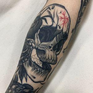healed skull
