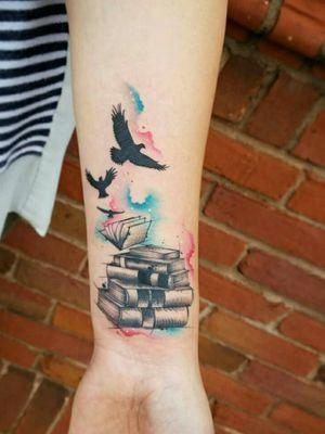 #booktattoo #birds