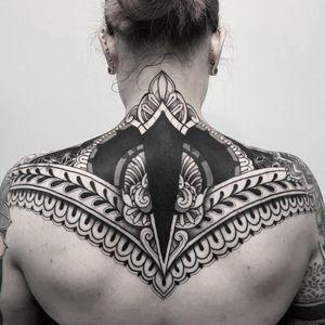 #cover #Black #tattoo #tattooinstagram #ink#inked #geometrictattoo #girlytattoo #girl #geometry