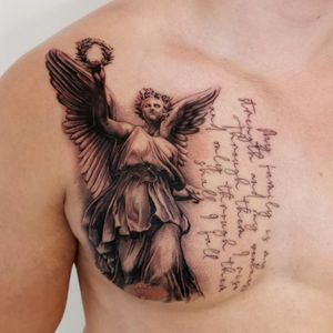 Guardian Angel #angelwings #angeltattoo #angel