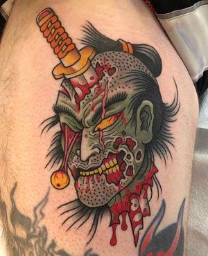 namakubi by benjamin arthur scott #benjaminarthurscott #namakubi #japanese #severedhead #sword #blood