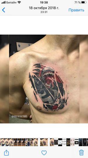 Tattoo by Kosta