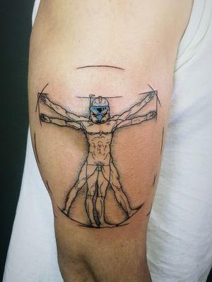 Cotizaciones a mi whats 2223605806 y DM 🤘🏻🤓 #elhombredevitruvio #thevitruvianman #stormtrooper #starwars #leonardodavinci #davinci #tattoo #tatuaje #linework #geektattoo #menwithink #tattooedboys #HybridoKymera #puebla #mexico #tatuadoresmexicanos #tatuadorespoblanos #tatuadoreslatinos #pueblacity #hechoenmexico #madeinmexico #tatuadoresmx #mexicotattoo #pueblatatuada #tattoodo #tattooinklatino #artinkstasmx @fkirons @boycottproducts @tattoodo