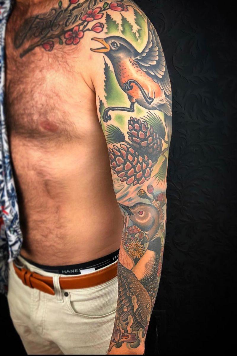 Tattoo from Daniel Hughes
