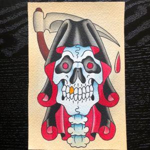 Little reaper painting