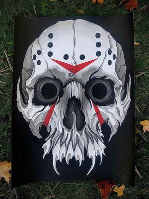 Jason mask skull