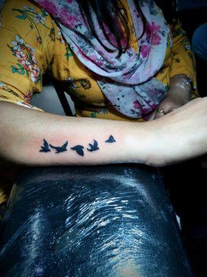 #getinked #inked #birdstattoo #tattoodo #inkedmag