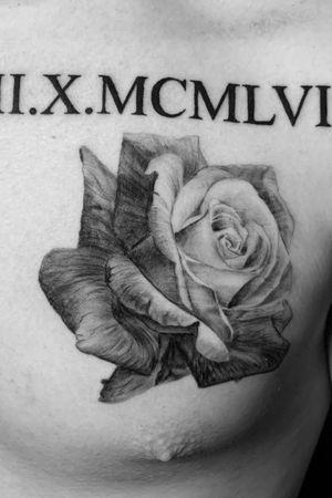 Instagram: @rusty_hst #rose #flower #blckandgrey #realism #blackandgreyrealism