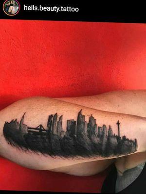 #frankfurttattoo #frankfurt #tattoofrankfurt #skylinetattoo