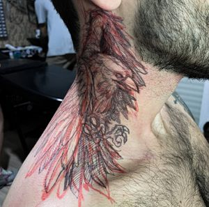 • Corvo • BlackWork • .⠀⠀⠀⠀⠀⠀⠀⠀⠀ Arte desenvolvida por freehand no meu mano @gcamposph ✌🏻 .⠀⠀⠀⠀⠀⠀⠀⠀⠀ Quer fazer uma tattoo comigo ? DIRECT📩, WhatsApp 📲 (16)99760-5859 Mais infos: só clicar no LINK na minha BIO! .⠀⠀⠀⠀⠀⠀⠀⠀⠀ .⠀⠀⠀⠀⠀⠀⠀⠀⠀ .⠀⠀⠀⠀⠀⠀⠀⠀⠀ .⠀⠀⠀⠀⠀⠀⠀⠀⠀ .⠀⠀⠀⠀⠀⠀⠀⠀⠀ .⠀⠀⠀⠀⠀⠀⠀⠀⠀ .⠀⠀⠀⠀⠀⠀⠀⠀⠀ .⠀⠀⠀⠀⠀⠀⠀⠀⠀ #lineworks #instaink #tattoosoftheday #tattooer #feathertattoo #onlyblackwork #freehandtattooartist #braziliantattooartist #blacktattooingonly #iblackwork #flashaddicted #flashwork #dark #darkartist #corvo #blackworkerssubmission